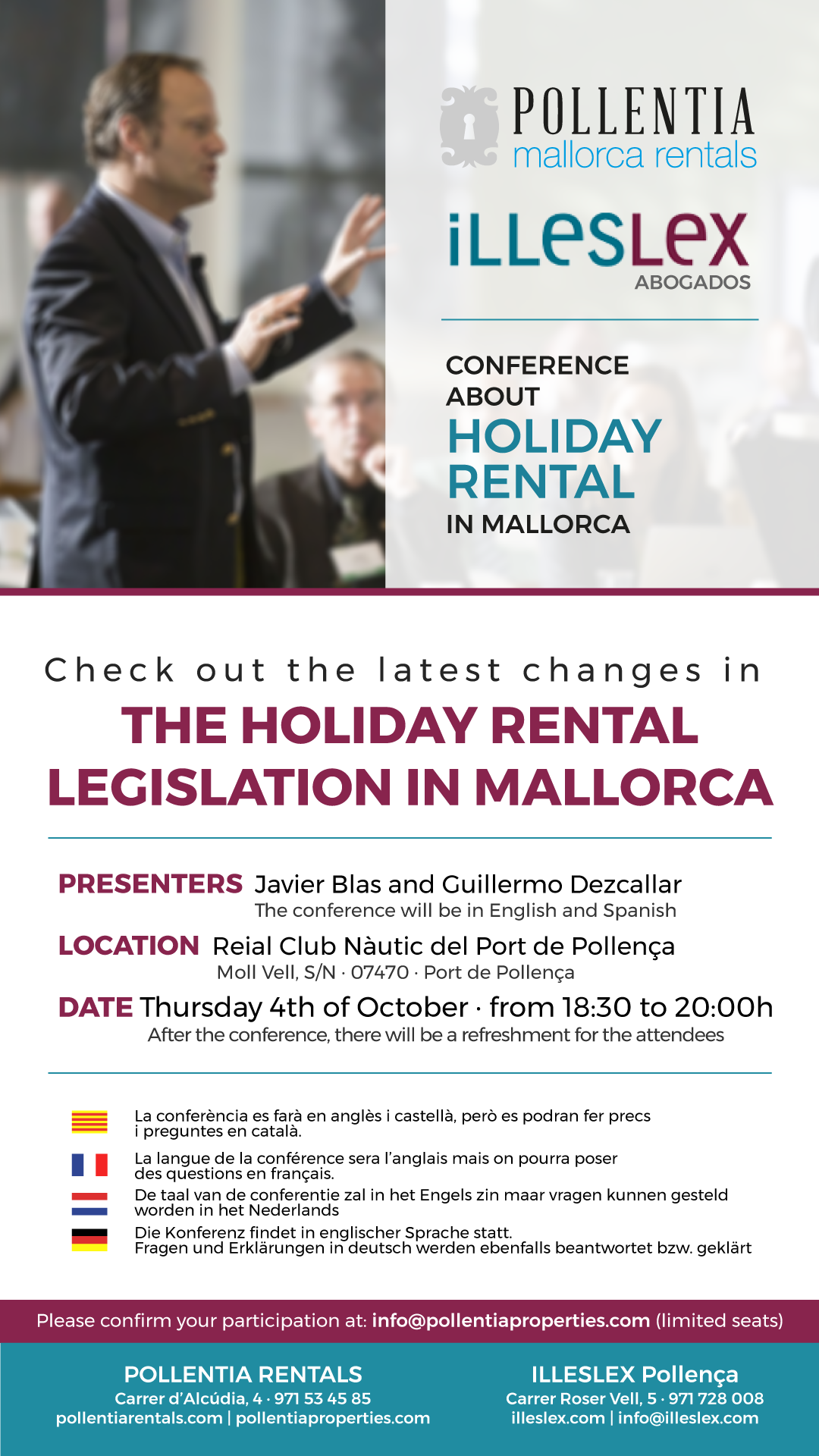 The holiday rental legislation in Mallorca | Pollentia Properties