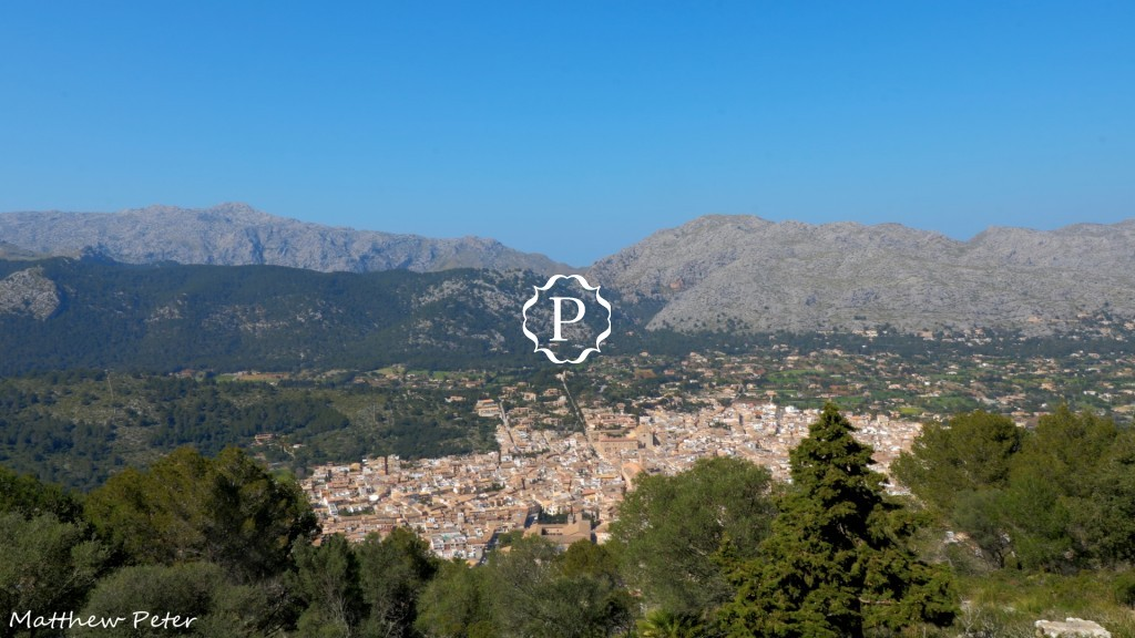 Pollenca from above