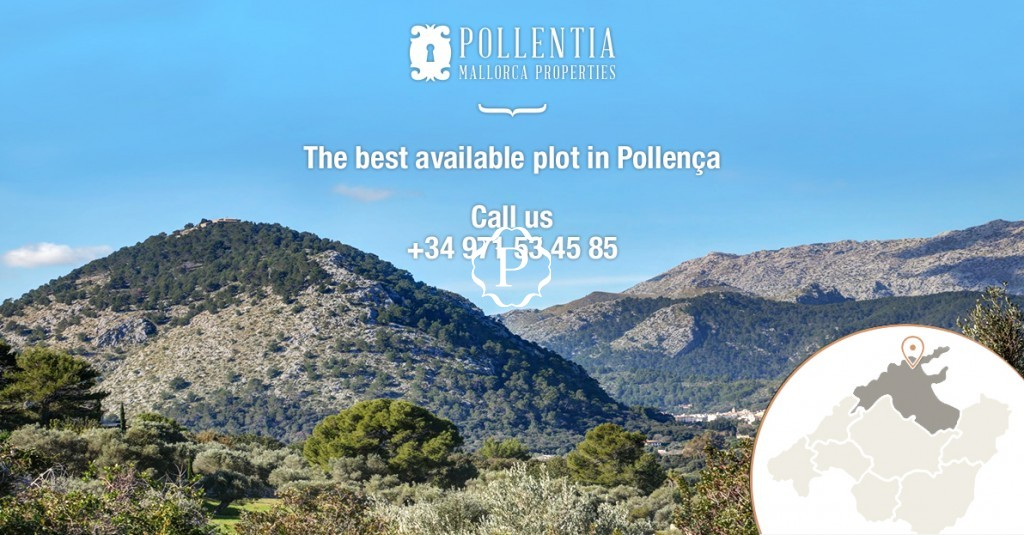 Building plot for sale in Pollensa