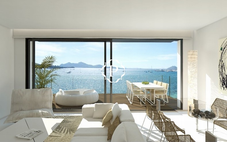 Modern apartment for sale in Puerto Pollensa