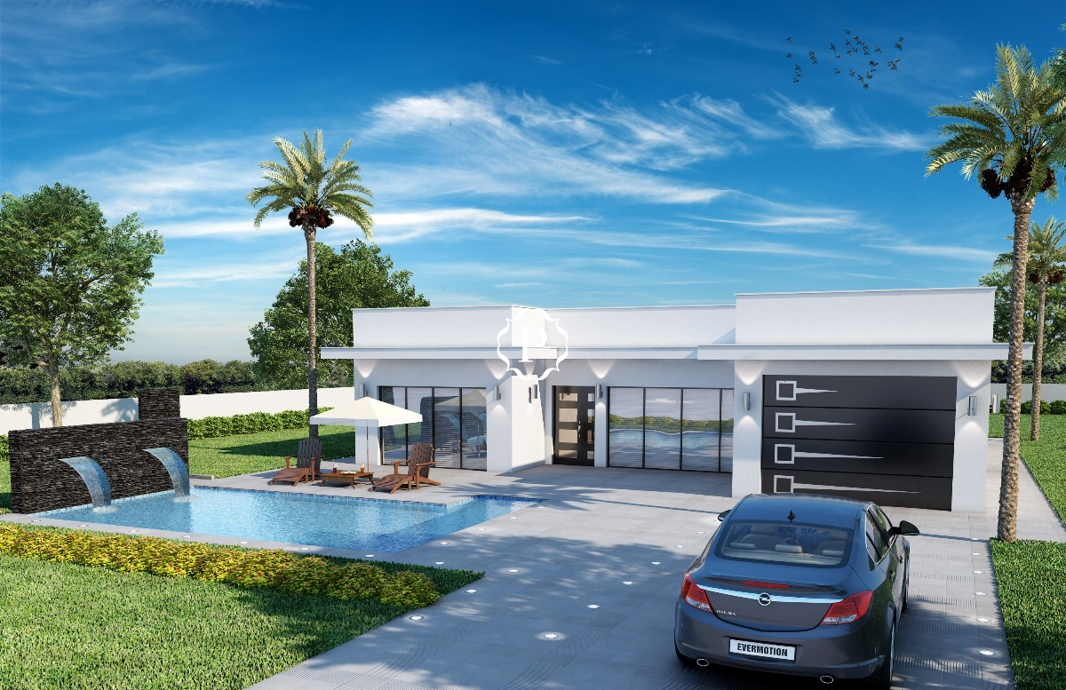 Off plan villa for sale in S´Obach, Pollensa, Mallorca now launched