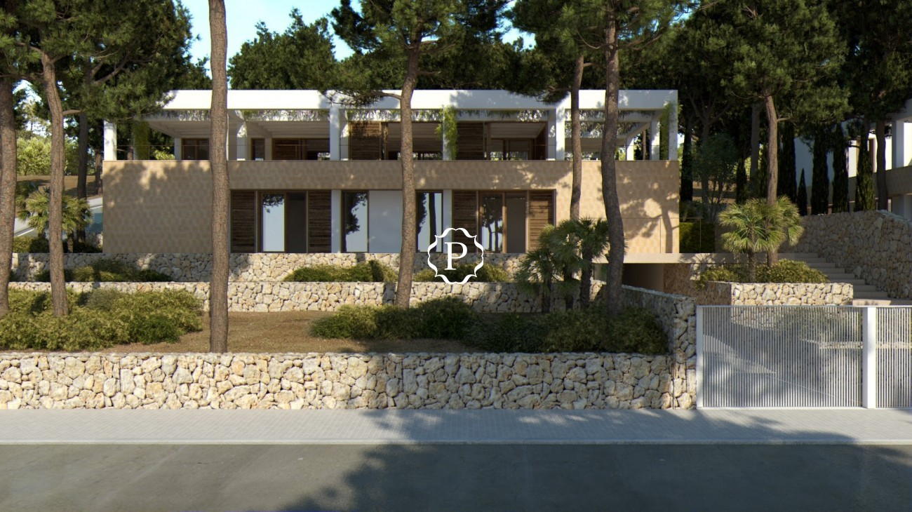 Building plots for sale in Cala San Vicente, Mallorca for two villas